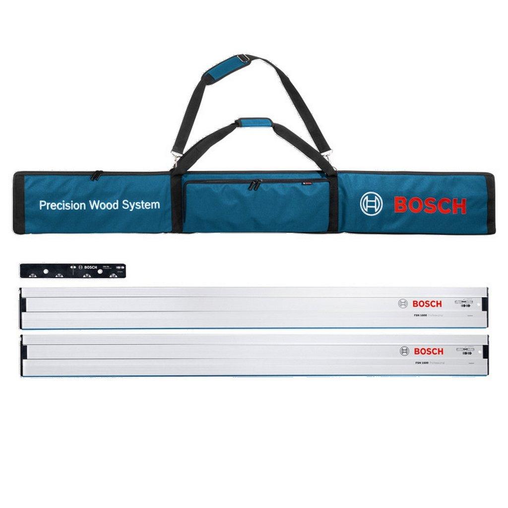 Bosch Profesional 0615990ee8/FSN bolsa con dos FSN 1600/Guardia de los carriles y uno FSN VEL para conectar carriles de gu/ía