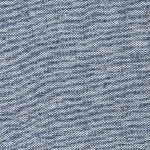 Rayon Cotton Linen Fabric - Robert Kaufman Kaufman Brussels Washer Linen Blend Yarn Dye Chambray Fabric By The Yard