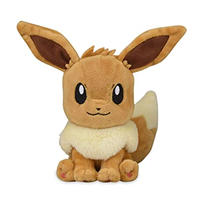 Eevee Plush #133 Pokémon Fit Official Gotta Catch 'Em All!: Clothing