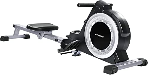 MaxKare Magnetic Rower Rowing Machine 16 Level Tension Resistance Exercise