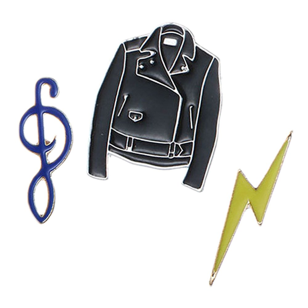 Amazon.com: 10 PCS Fashion Cute Cartoon Lapel Pin Set DIY Brooch Pins for Clothes Bags Backpacks Hats Jeans Jacket: Beauty