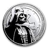 #7: 2017 Niue 1 oz Silver $2 Star Wars Darth Vader BU 1 OZ Brilliant Uncirculated