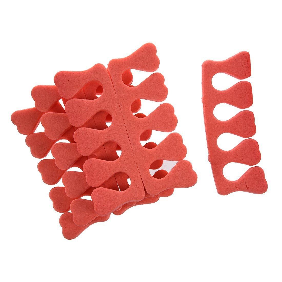 SODIAL (R) 7 Stueck Bunte Nagel Kunst Finger-Zehe-Weichschaum Separator Manikuere Pedikuere-Tool SODIAL(R) HM64