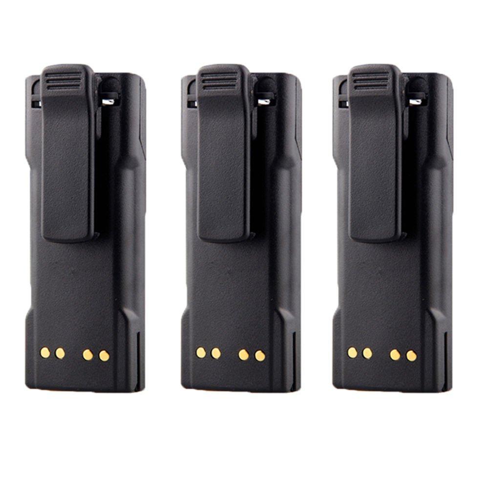 3PCS 7.4V Ni-MH 2100mAh NTN7143 NTN7144 Battery for MOTOROLA HT1000 MT2000 MTS2000