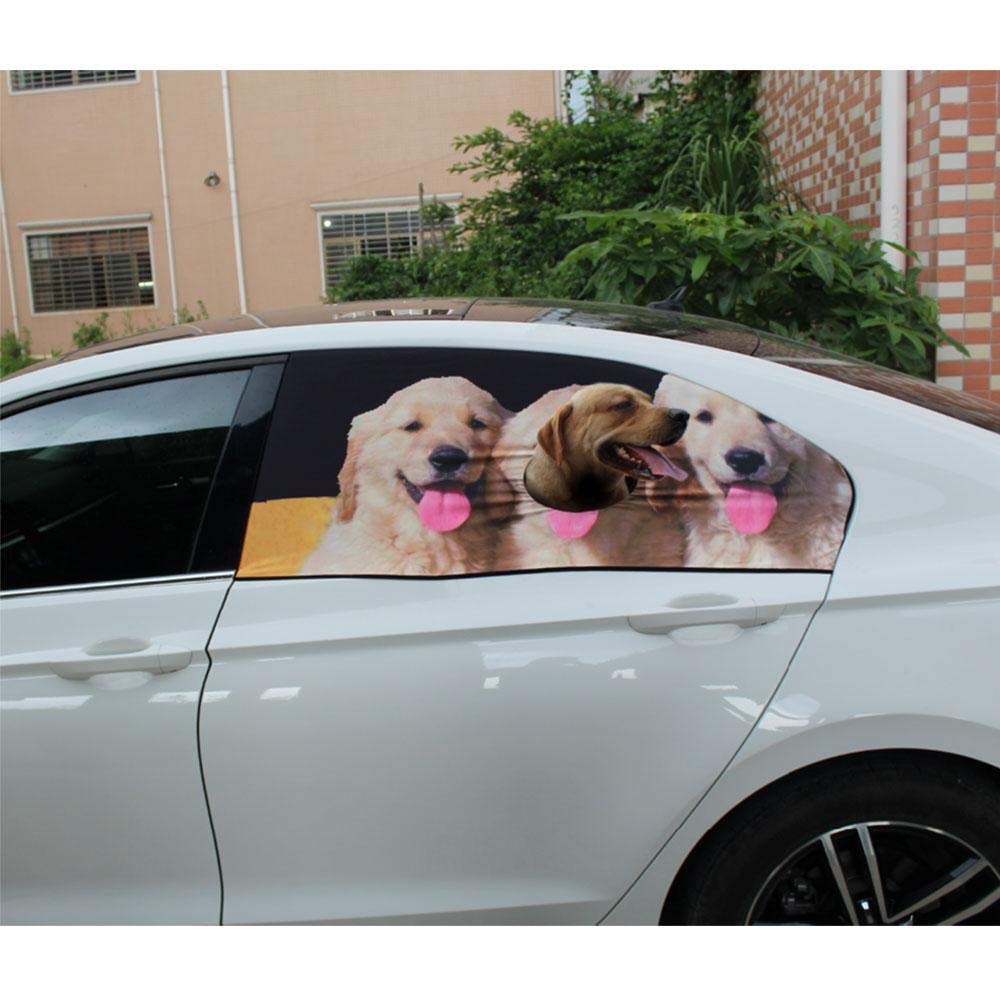 Amazon com : Car Dog Barrier, Pet Safety Flexible Car Window