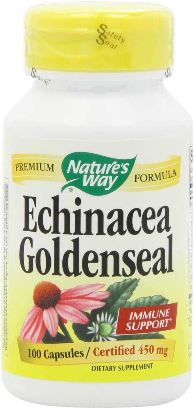 Nature s Way Echinacea and Golden Seal Root, 100 Vcaps