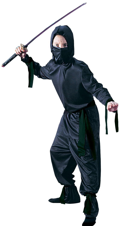 Amazon.com: Fun World Black Ninja Child Large: Clothing