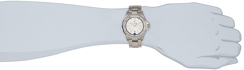 Amazon.com: Victorinox Mens 241571 Night Vision Silver/White Stainless Steel Watch: Victorinox: Watches