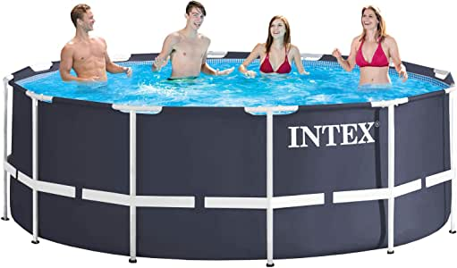 Intex 28904 - Marco de metal para piscina, 366 x 122 cm: Amazon.es ...