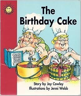 Marvelous Amazon Com The Birthday Cake Sunshine Fiction Level 1 Set A Funny Birthday Cards Online Inifofree Goldxyz