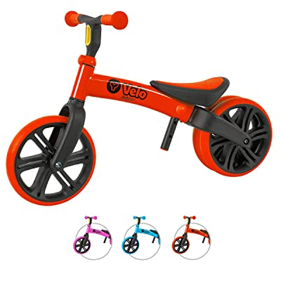 Yvolution Y Velo Junior Toddler Bike | No-Pedal Balance Bike | Ages 18 Months to 4 Years (red New): Sports & Outdoors
