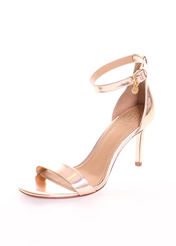Tory Burch Women s Ellie 85mm Ankle-Strap Sandal Rose Gold 8.5 ...