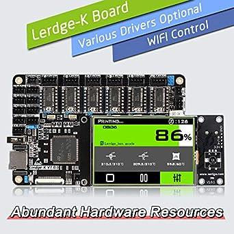 Amazon.com: Placa de control de impresora 3D ARM de 32 bits ...