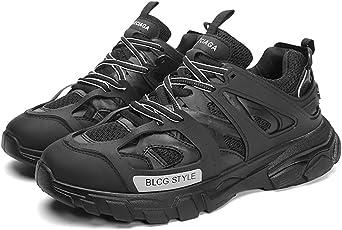 FHTD Zapatillas deportivas para hombre Zapatillas de deporte de punto Multisport Running Zapatillas de gimnasia: Amazon.es: Ropa y accesorios