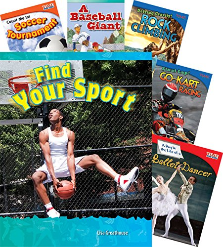 Sports 7-Book Set (Language Arts) by Shell Education
