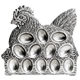 Statesmetal? Egg Plate, 9'' H x 10'' W