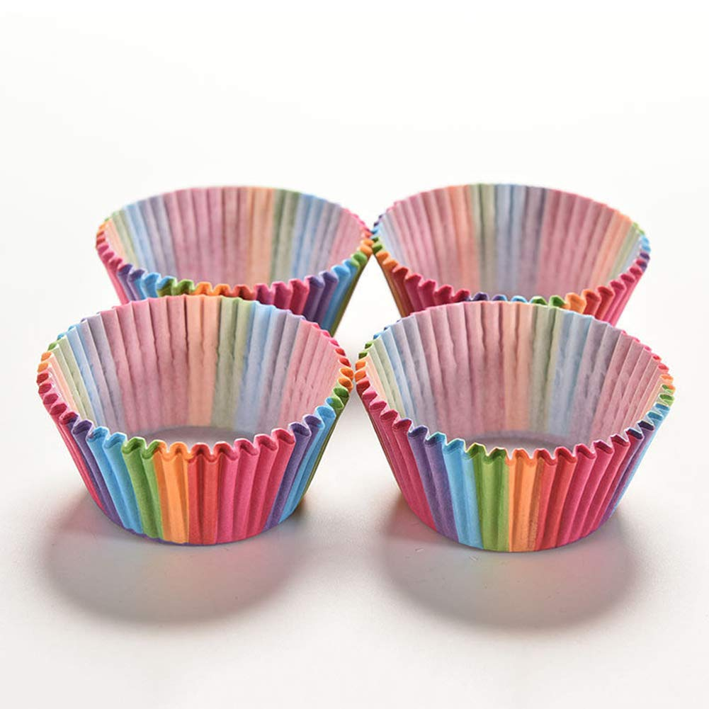 decorazioni per feste di compleanno muffin 100 pirottini colorati per cupcake