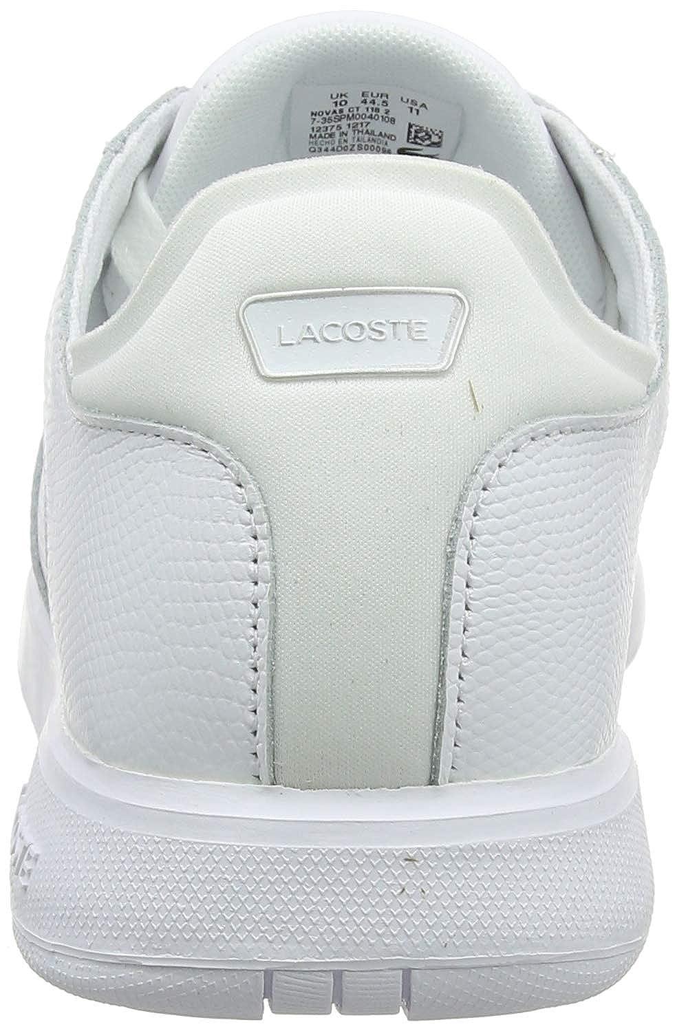 Lacoste Novas CT 118 2 Spm004010881. Baskets Homme. White