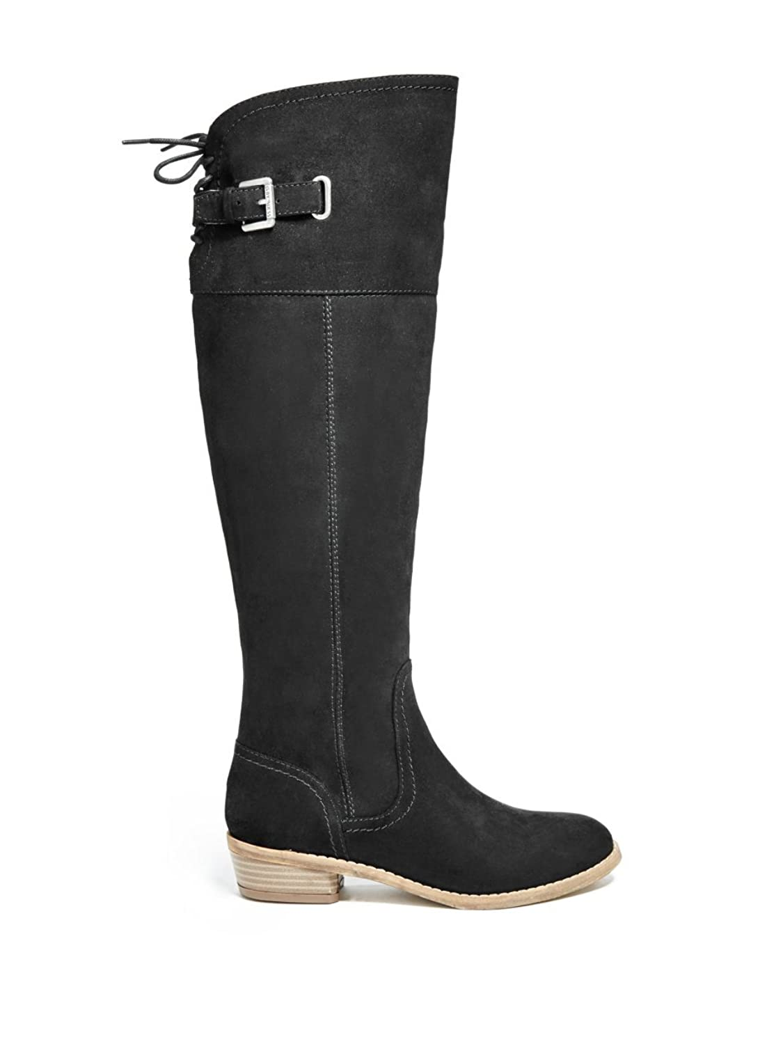 Amazon.com | G by GUESS Womens Aikon Closed Toe Knee High Riding Boots |  Knee-High