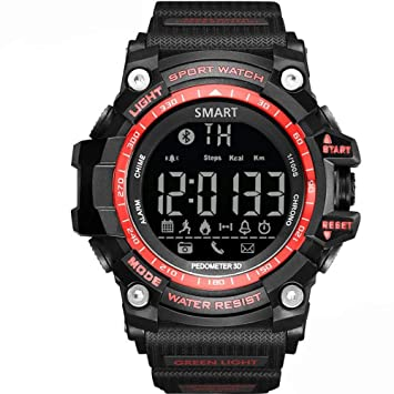 Wolfsay Brazalete Deportivo Bluetooth EX16 Smartwatch Watch ...