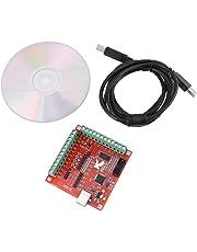 Scheda CNC MACH3 USB 4 Assi Movimento Controllo, Scheda di Interruzione dell'Interfaccia per il Driver del Motore Passo-Passo