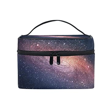 02b71ff07950 Amazon.com : Galaxy Stars Space Starry Night Sky Women Portable ...
