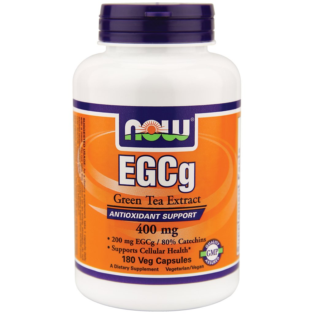 NOW Foods EGCg Green Tea Extract 400mg 360 count