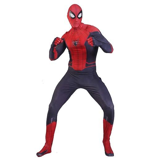 QWEASZER Traje Negro de Spider-Man Far from Home Spiderman Rojo ...