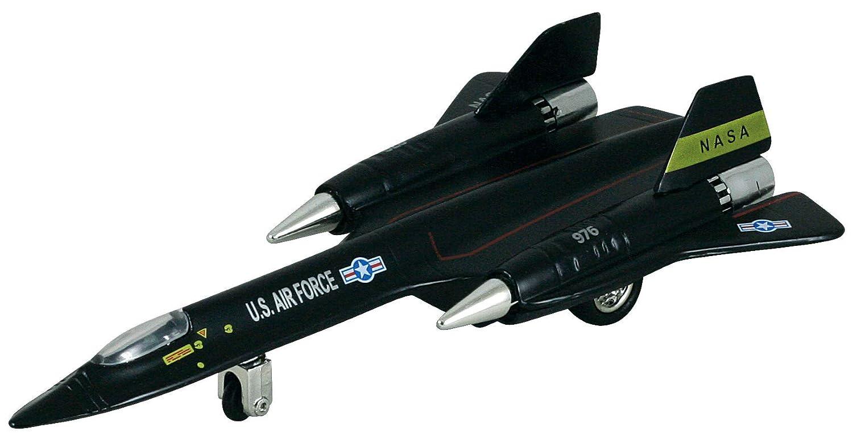 SR - 71 Blackbird Pullback Plane、ブラック – Daron pmt51320 – DiecastモデルMilitary Vehicle B071WT3V81