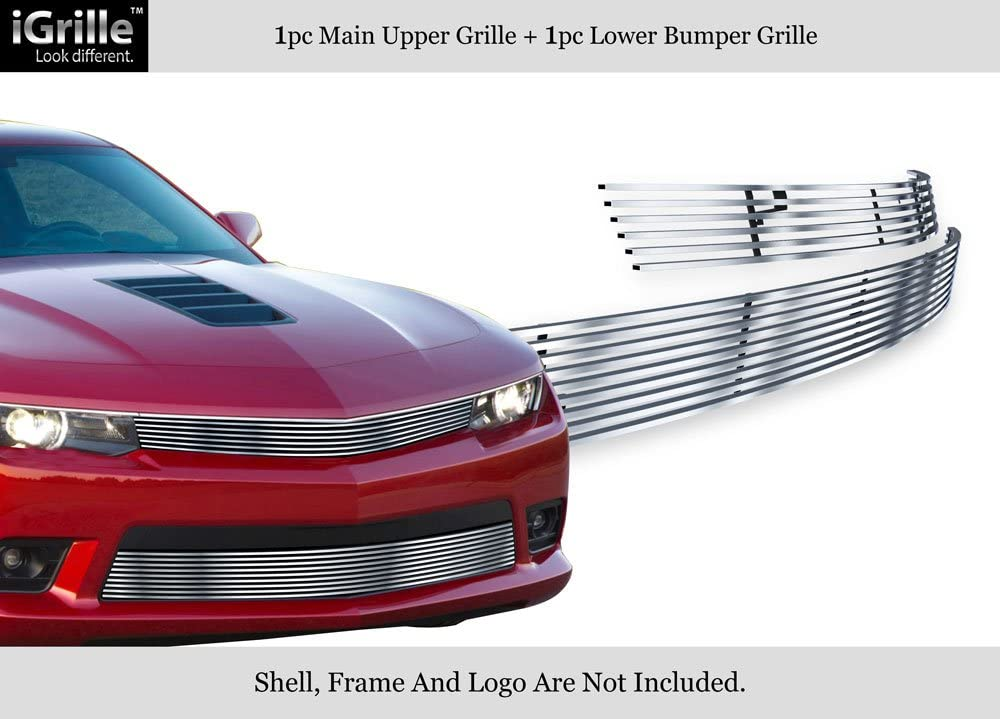 Grilles & Grille Guards APS Compatible with 2014-2015 Chevy Camaro ...