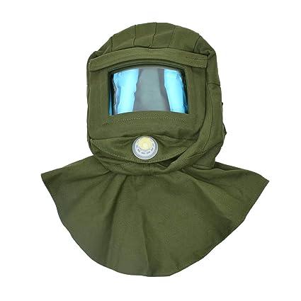 Industry Sand Blasting Hood Sandblaster Hood Mask Cap Anti Wind Dust Protective