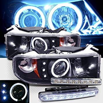 613bsX2Ow3L._SY355_ amazon com 1994 2001 dodge ram 1500 ccfl halo projector  at bakdesigns.co