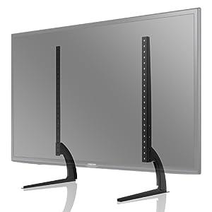 982dea7693fe39 1home TV Support sur Table Hauteur Adjustable pour LCD LET Ecran Plate TV  de 32 à