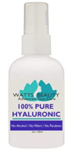 Anti Aging Wrinkle Filler of 100% Pure Hyaluronic Acid for Face - No Alcohol, No Parabens, Vegan & USA - Hyaluronic Levels Simply Decrease with Age Causing Sagging, Wrinkles, Dry Skin & Fine Lines