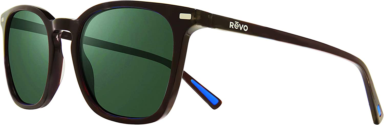Revo Sunglasses Men Women Multiple Frame and Lens Colors Rectangle Poloarized Sunglass