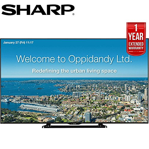 "Sharp 70"" Full HD Commercial LED-LCD TV  with 1 Year Extende"