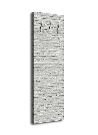 wandmotiv24 Perchero con diseño Gris ladrillo G044 40 x 125 ...