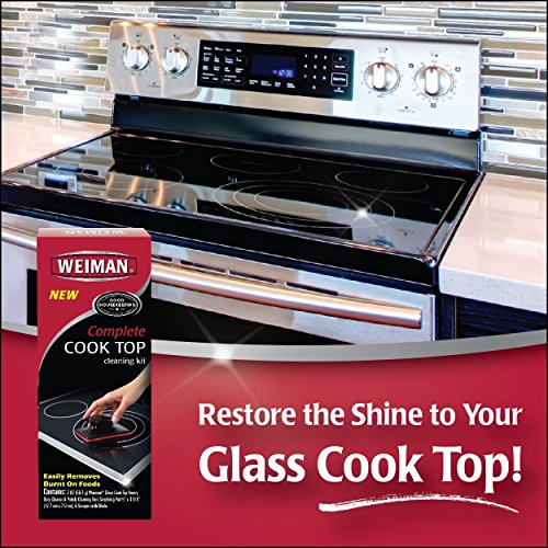 Weiman Complete Cook Top Cleaning Kit Cook Top Cleaner