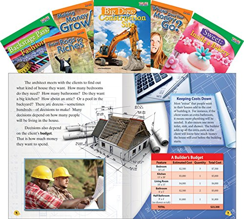 Download Mathematics Guided Reading: Grades 3-5, 6-Book Set (Classroom Library Collections) PDF