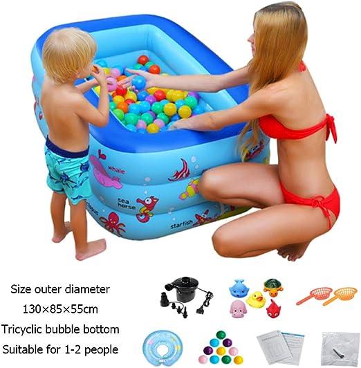DSFGHE Inflable Piscina Infantil Adulto para Bebés Piscina para ...