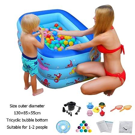 DSFGHE Inflable Piscina Infantil Adulto para Bebés Piscina ...