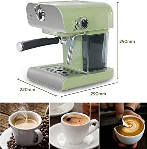 XDLYM Máquina automática de café en Grano a Taza Espresso 800 ml ...