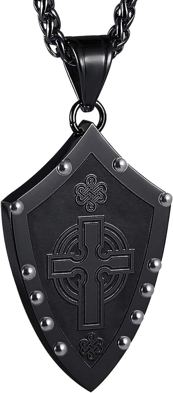 Sword of Truth  Sword of the Spirit Mixed Metals Warrior Jewelry for Men Women Viking  Celtic Broad Sword Pendant w Optional Necklace