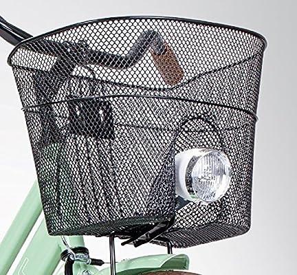 Basil – Cesta delantera para bicicleta con soporte de flash con ...