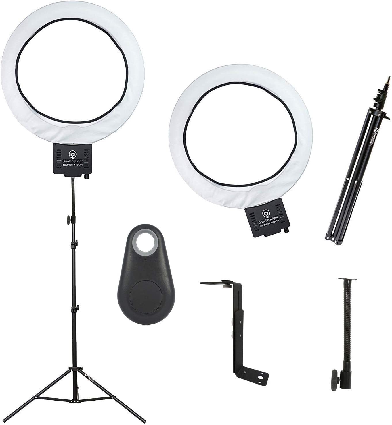 Bundle WH Diva Ring Light Comet and Bluetooth Shutter