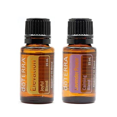 doterra marca doTERRA Aceite Esencial Elevación 15 ml & Lavender ...