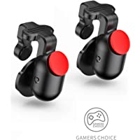 BASEUS Smart Trigger Easy Press Back Button for Mobile PUBG Games | 1 Pair - Black Colour |
