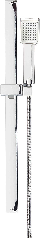 Bagno Premium 700/mm Flat bar Style Square saliscendi doccia a mano soffione doccia kit/ /Chrome
