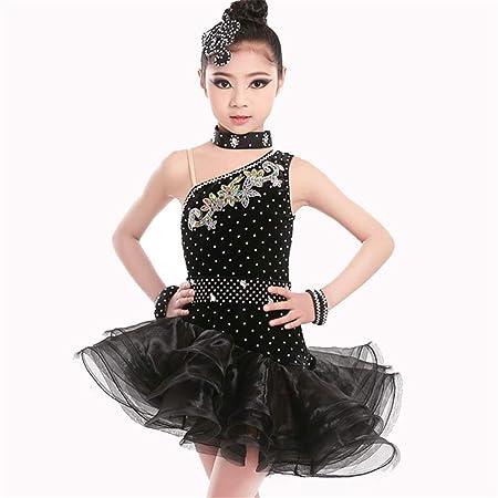 Niños Niños Escenario Rendimiento Competición Salón de Baile ...