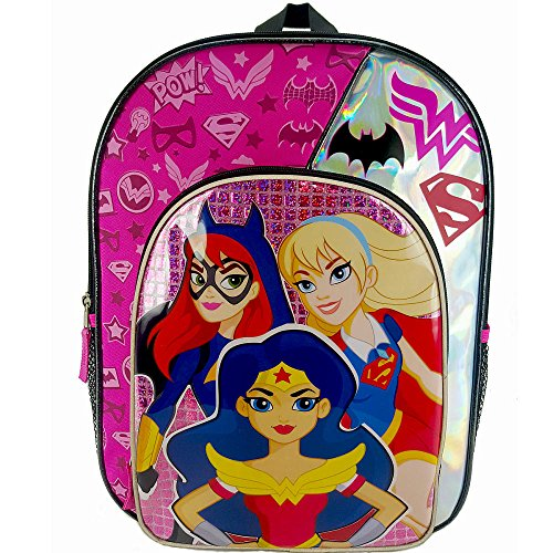 DC Comics Batgirl Supergirl Backpack product image